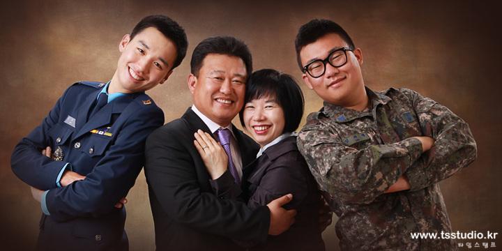 퇴계원군인가족사진